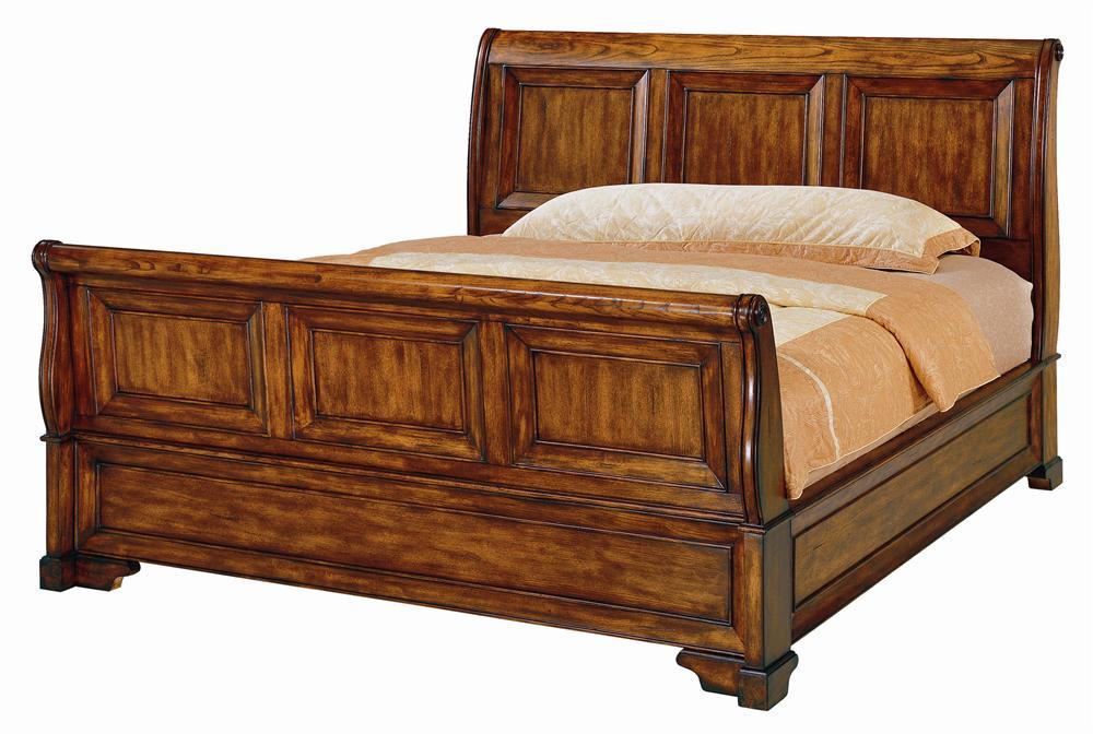 Aspenhome Centennial King Sleigh Bed - Item Number: I49-404EW+405EW+406