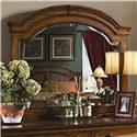 Aspenhome Centennial Landscape Mirror with Arched Frame