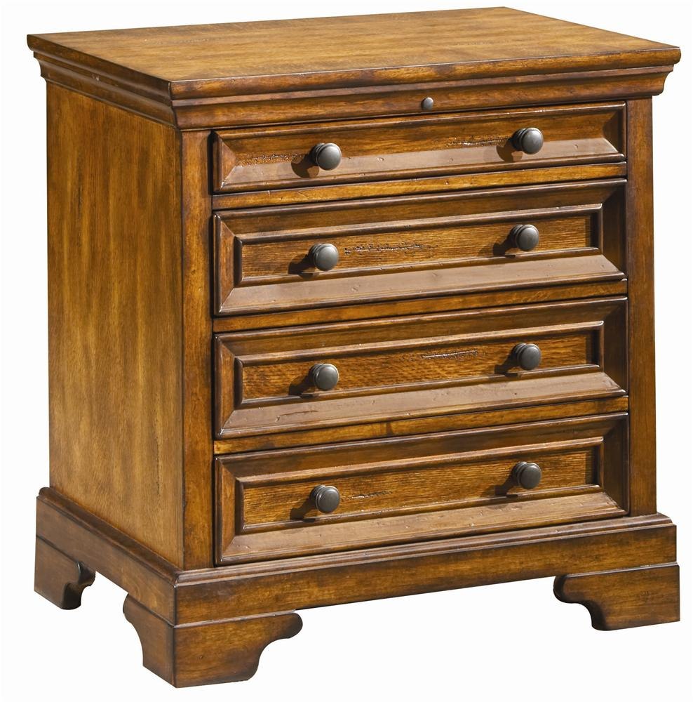 Aspenhome Centennial Liv360 Nightstand - Item Number: I49-9450
