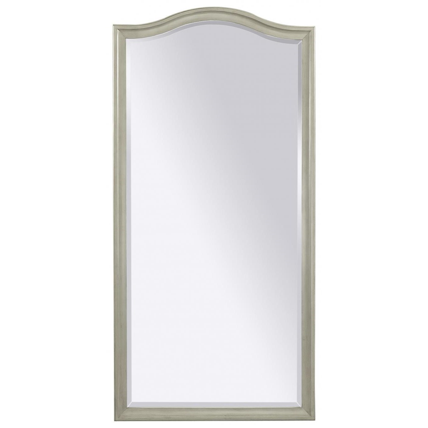 Charlotte  Floor Mirror by Aspenhome at Walker's Furniture
