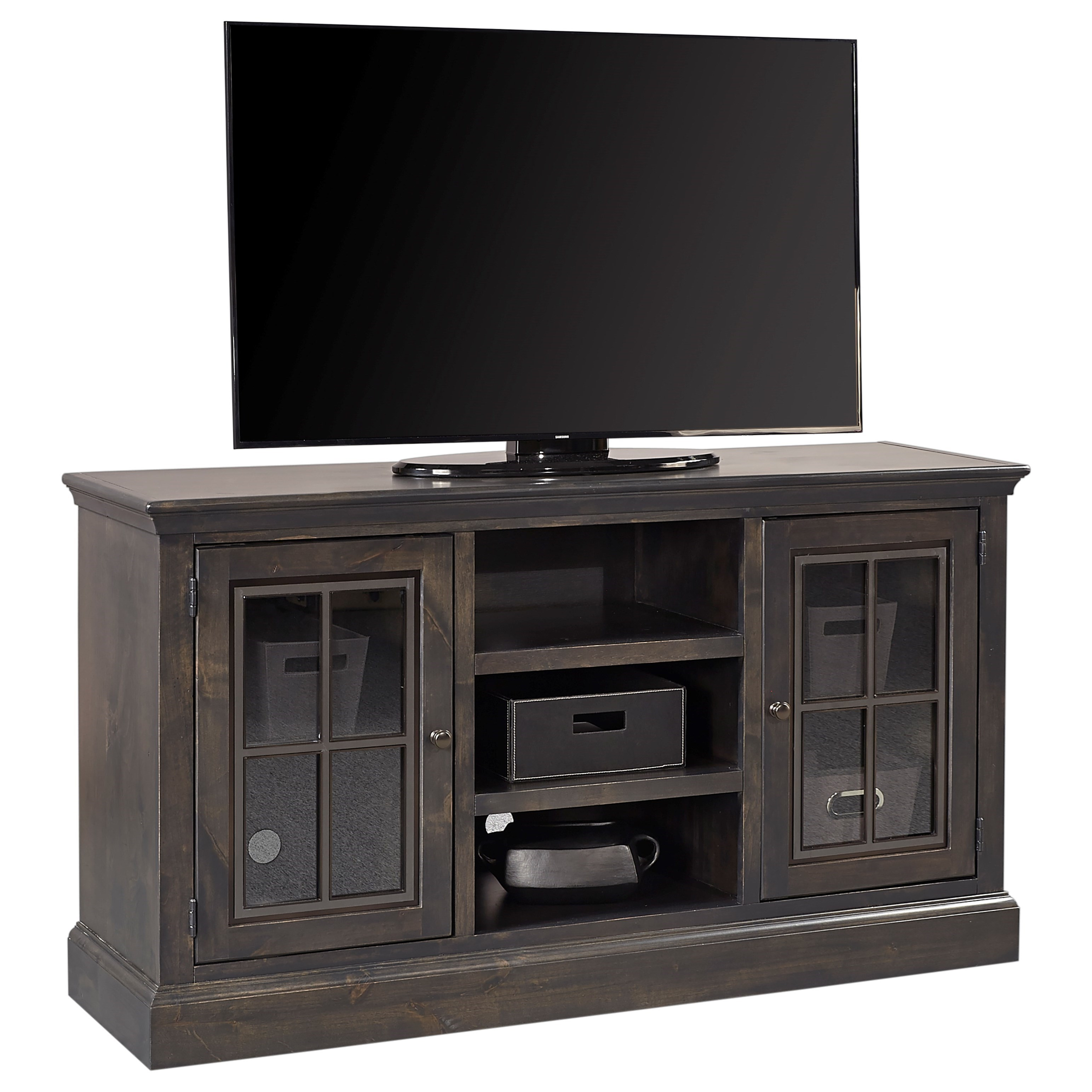 """Churchill 59"""" Console by Aspenhome at Walker's Furniture"""