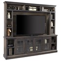 "Aspenhome Churchill 96"" TV Console and Hutch - Item Number: DR1270+1270H-GHT"