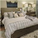 Aspenhome     King Bed+ Dresser and Mirror + Nightstand - Item Number: 523953891