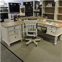 Aspenhome     Pedestal L Desk - Item Number: 700592850