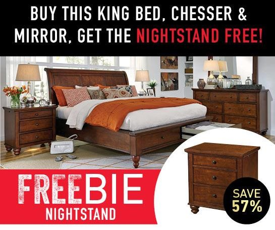 Clinton Bedroom Package with Freebie!