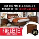 Aspenhome Clinton Clinton Bedroom Package with Freebie! - Item Number: 438328490