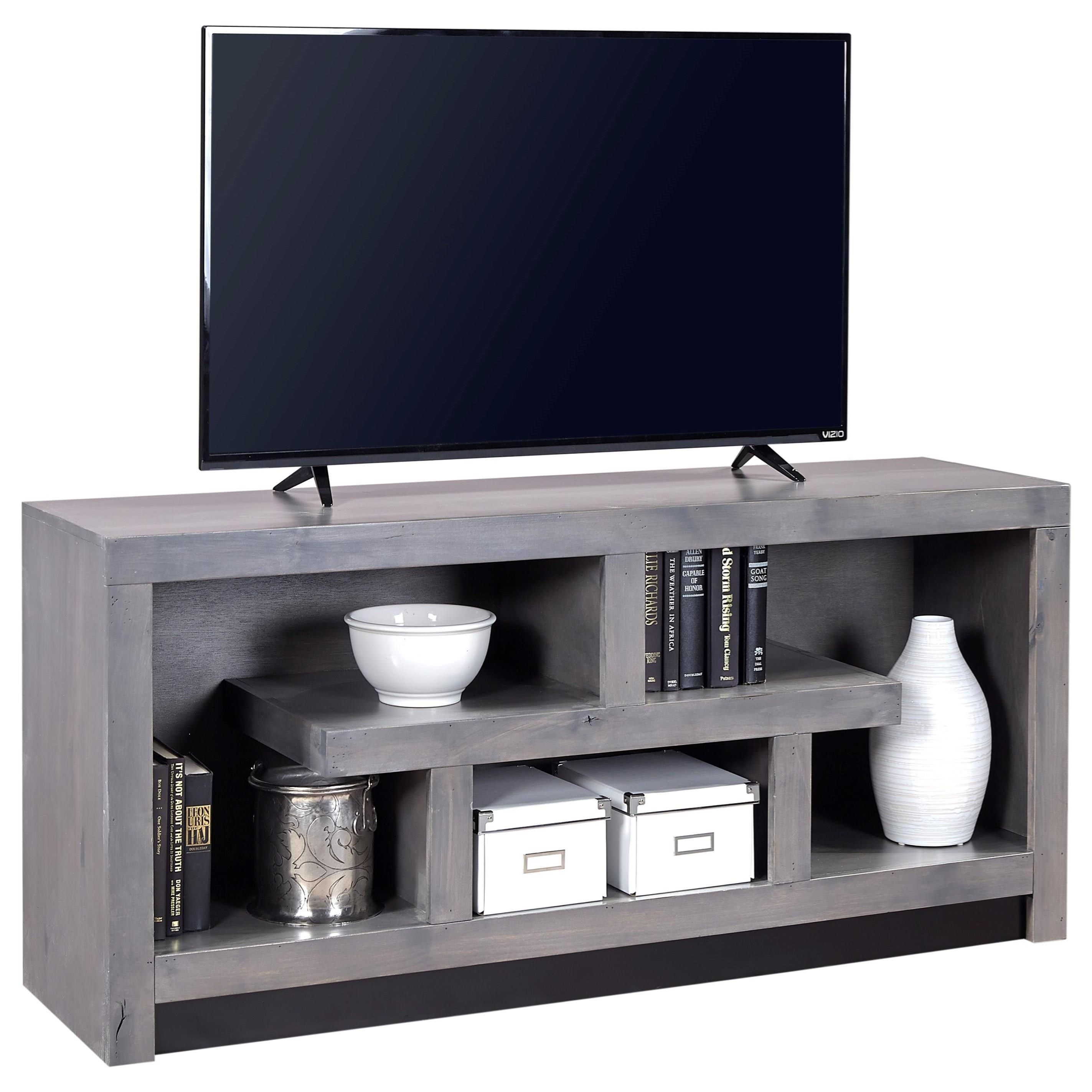 Aspenhome Contemporary Alder 60 Inch Console - Item Number: DL1029-GRY