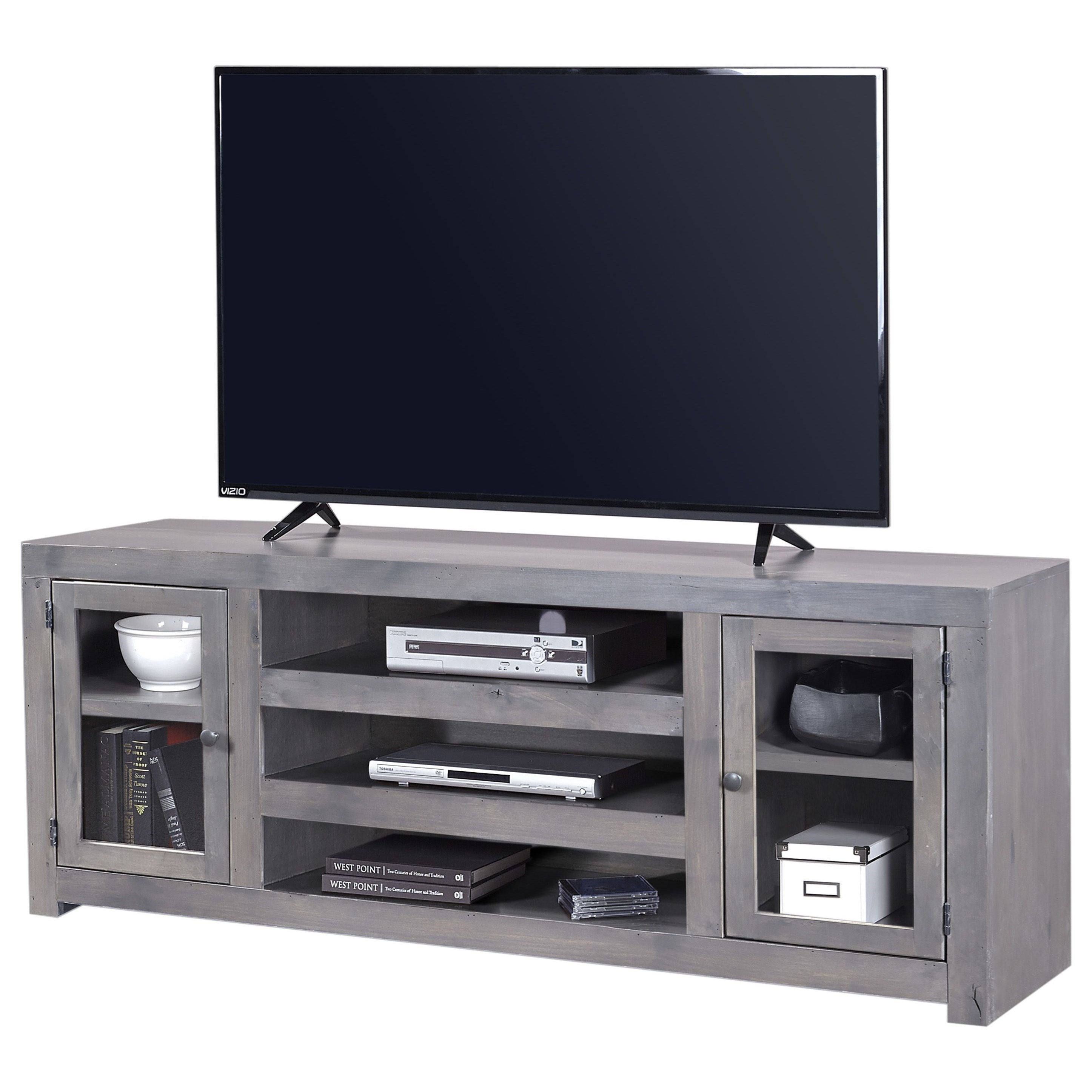 Contemporary Alder 72 Inch Console by Aspenhome at Walker's Furniture