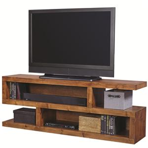 "Morris Home Furnishings Alder Woods Alder Woods 75"" Console"
