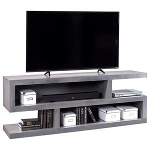 Morris Home Furnishings Contemporary Alder 74 Inch Open Console