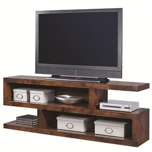 Morris Home Contemporary Alder 74 Inch Open Console