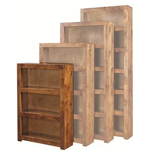 Aspenhome Contemporary Alder 48 Inch Bookcase