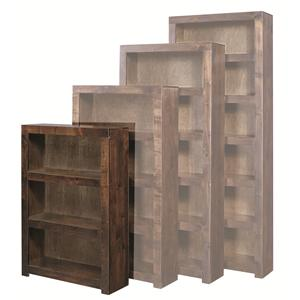 Highland Court Contemporary Alder 48 Inch Bookcase