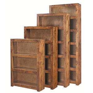 Aspenhome Contemporary Alder 60 Inch Bookcase