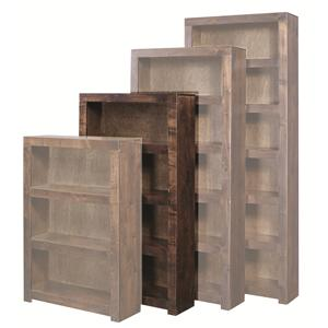 Morris Home Contemporary Alder 60 Inch Bookcase