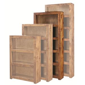 Aspenhome Contemporary Alder 72 Inch Bookcase