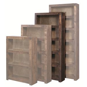 Morris Home Contemporary Alder 72 Inch Bookcase
