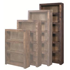 Morris Home Contemporary Alder 84 Inch Bookcase