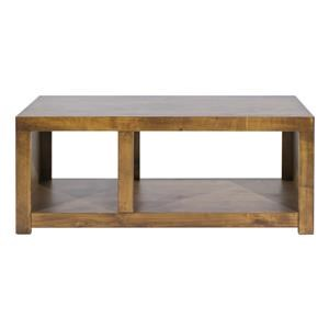 Aspenhome Contemporary Alder Cocktail Table