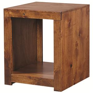 Morris Home Furnishings Alder Woods Alder Woods End Table