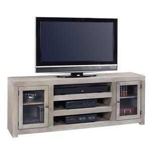 Morris Home Furnishings Contemporary Driftwood 72 Inch Console