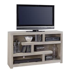 Morris Home Furnishings Contemporary Driftwood 60 Inch Open Console