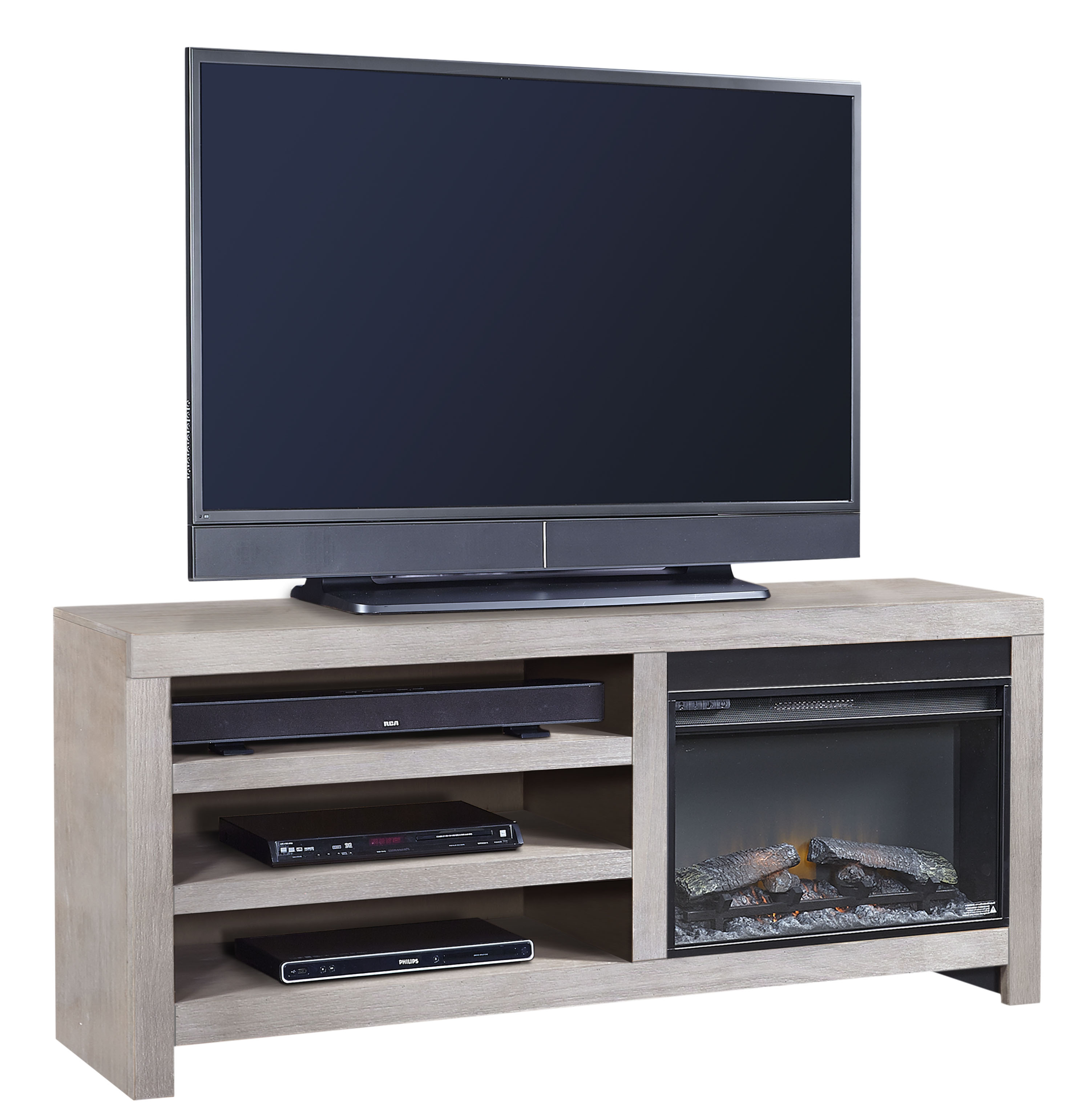 65 Inch Fireplace Console