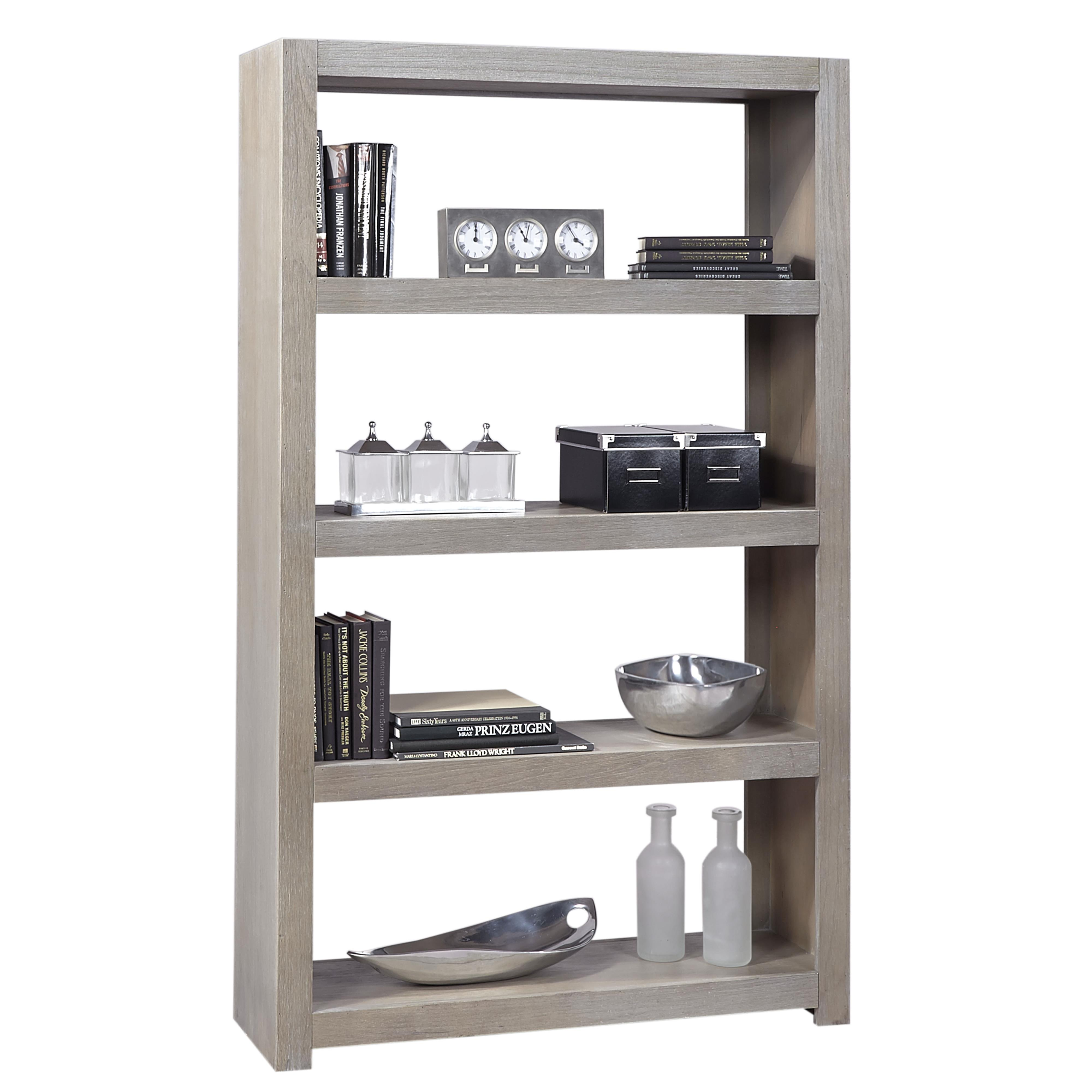 Aspenhome Contemporary Driftwood Room Divider - Item Number: WML4375-DRF