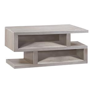 Aspenhome Contemporary Driftwood S Cocktail Table