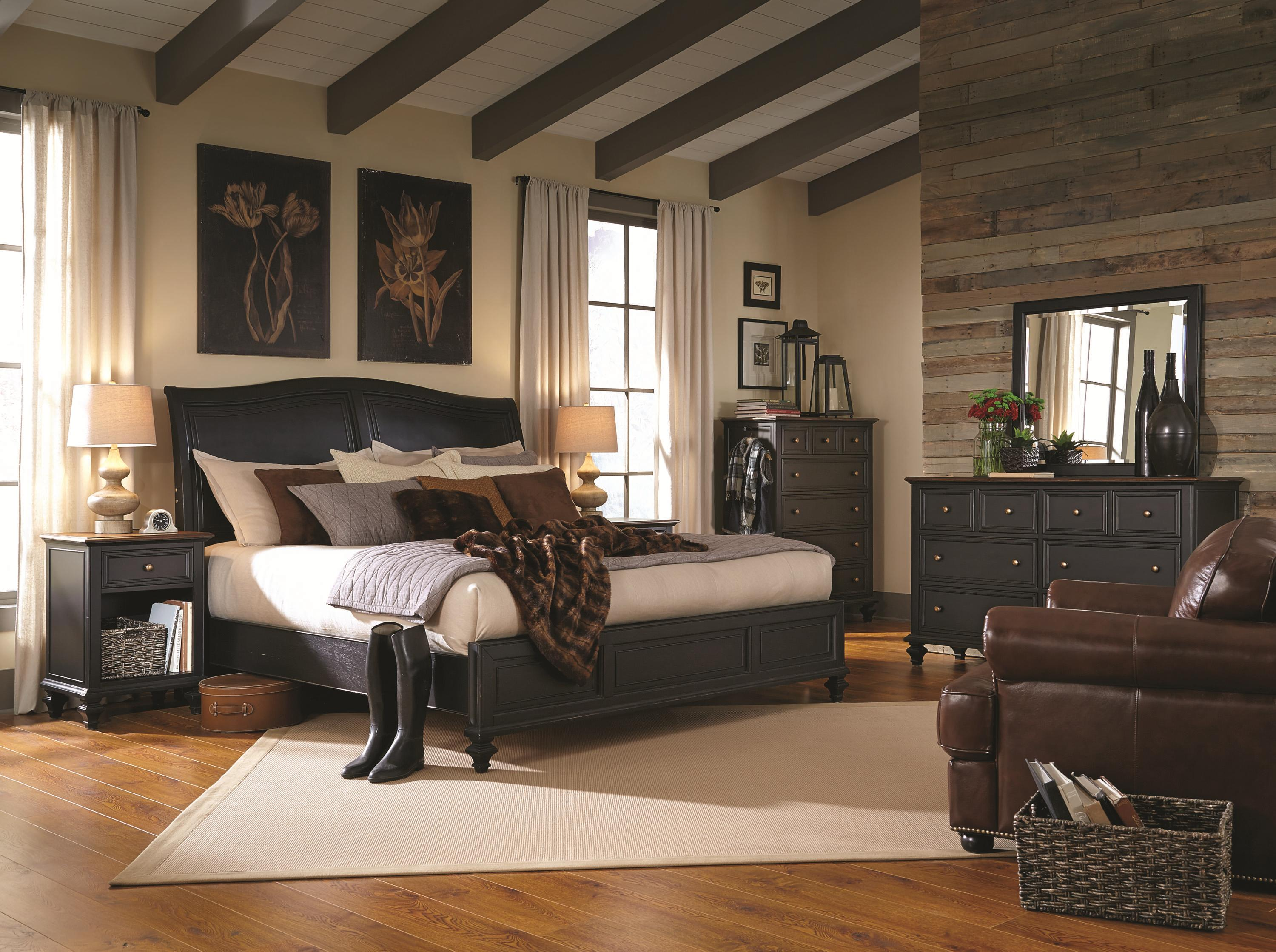 Aspenhome Ravenwood Queen Bedroom Group - Item Number: I65 Queen Bedroom Group 1