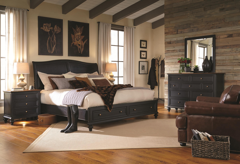 Aspenhome Ravenwood Queen Bedroom Group - Item Number: I65 Queen Bedroom Group 2