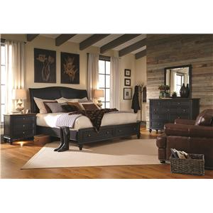 Aspenhome Ravenwood Queen Bedroom Group