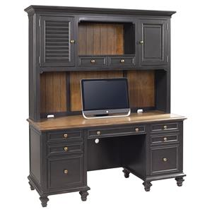 Aspenhome Ravenwood Credenza with Hutch