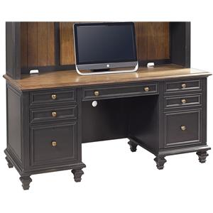 Ravenwood Credenza  with Pullout Printer Tray by Aspenhome