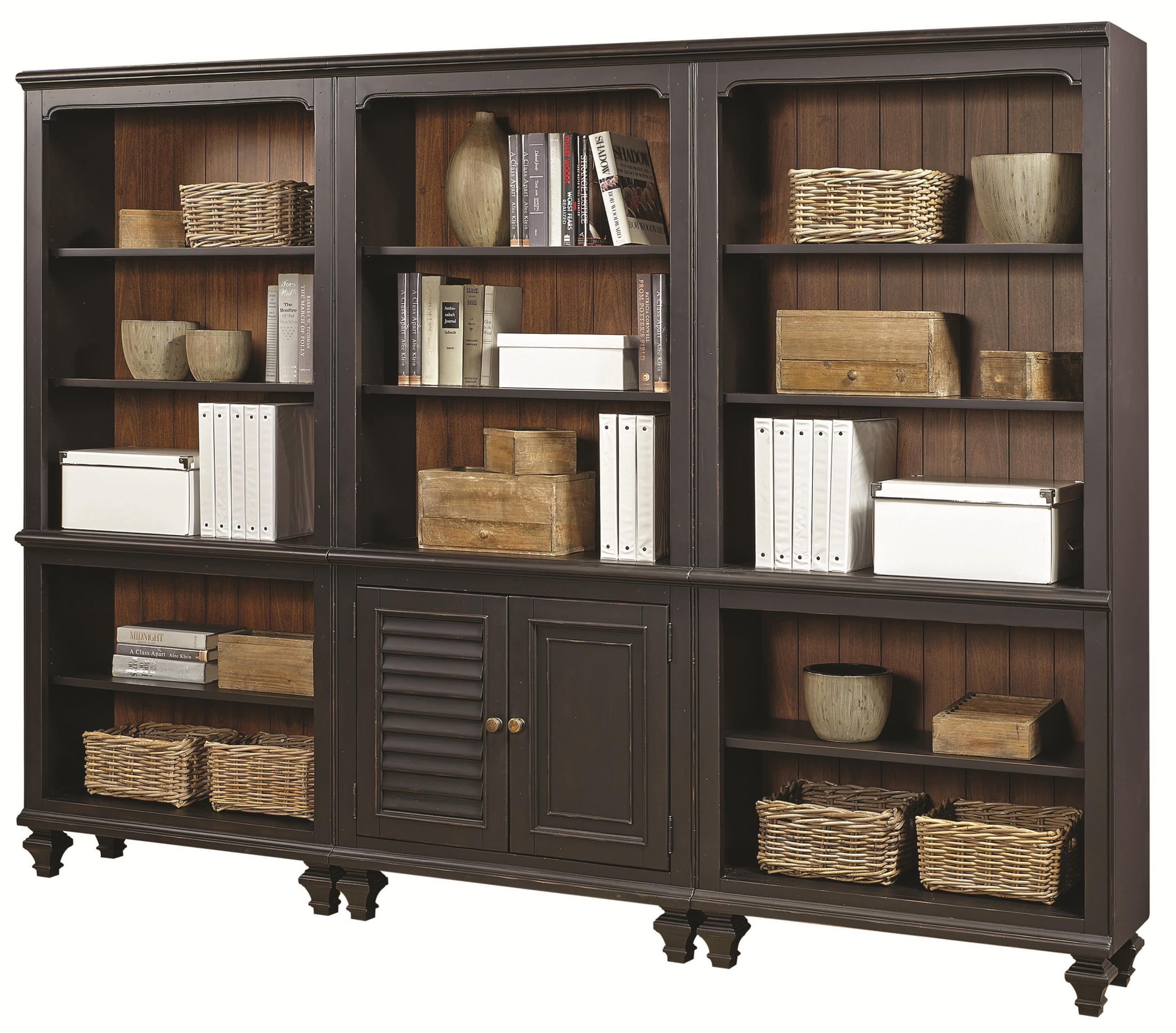 Aspenhome Ravenwood Bookcase Combination - Item Number: I65-332+2x333
