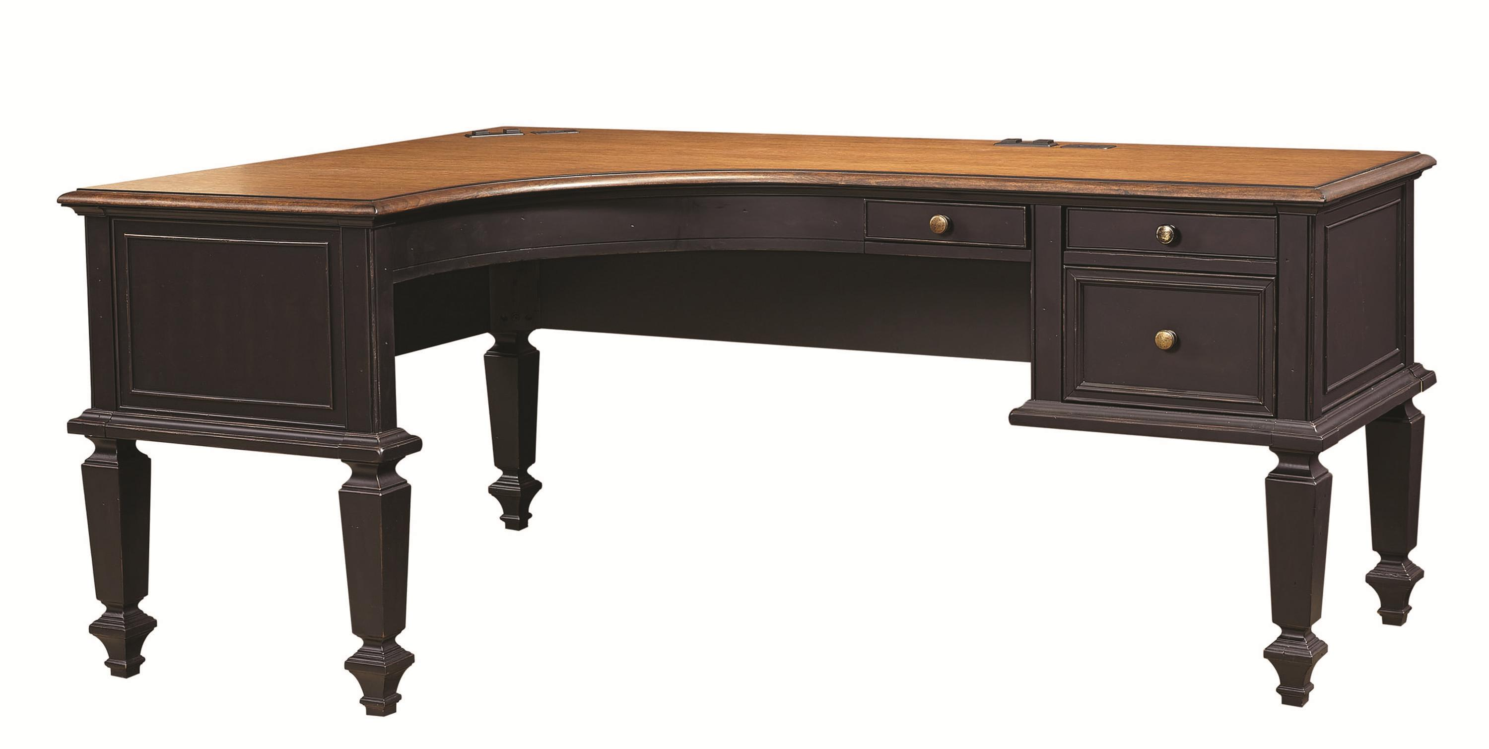 Aspenhome Ravenwood L-Shaped Desk - Item Number: I65-372