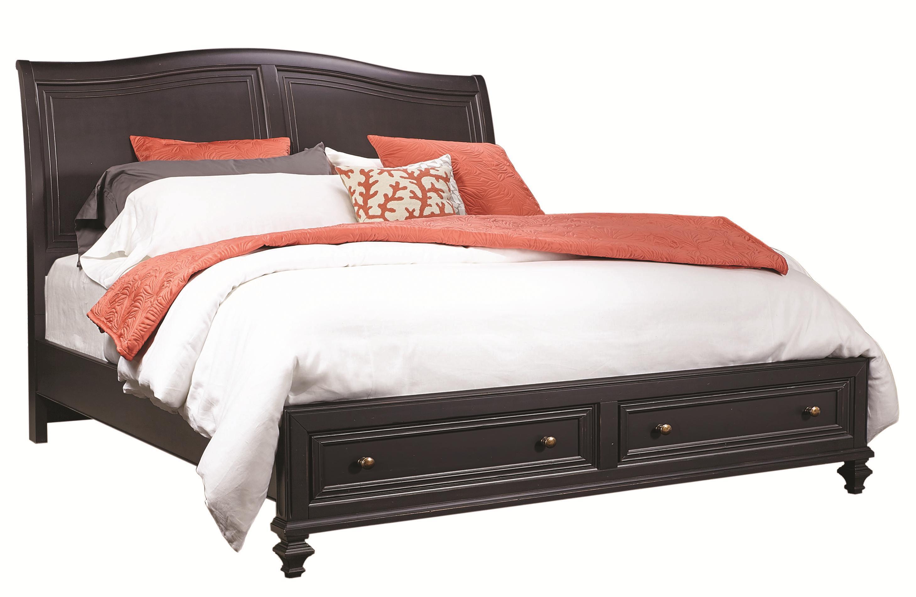 Aspenhome Ravenwood California King Bed - Item Number: I65-404+407D+410