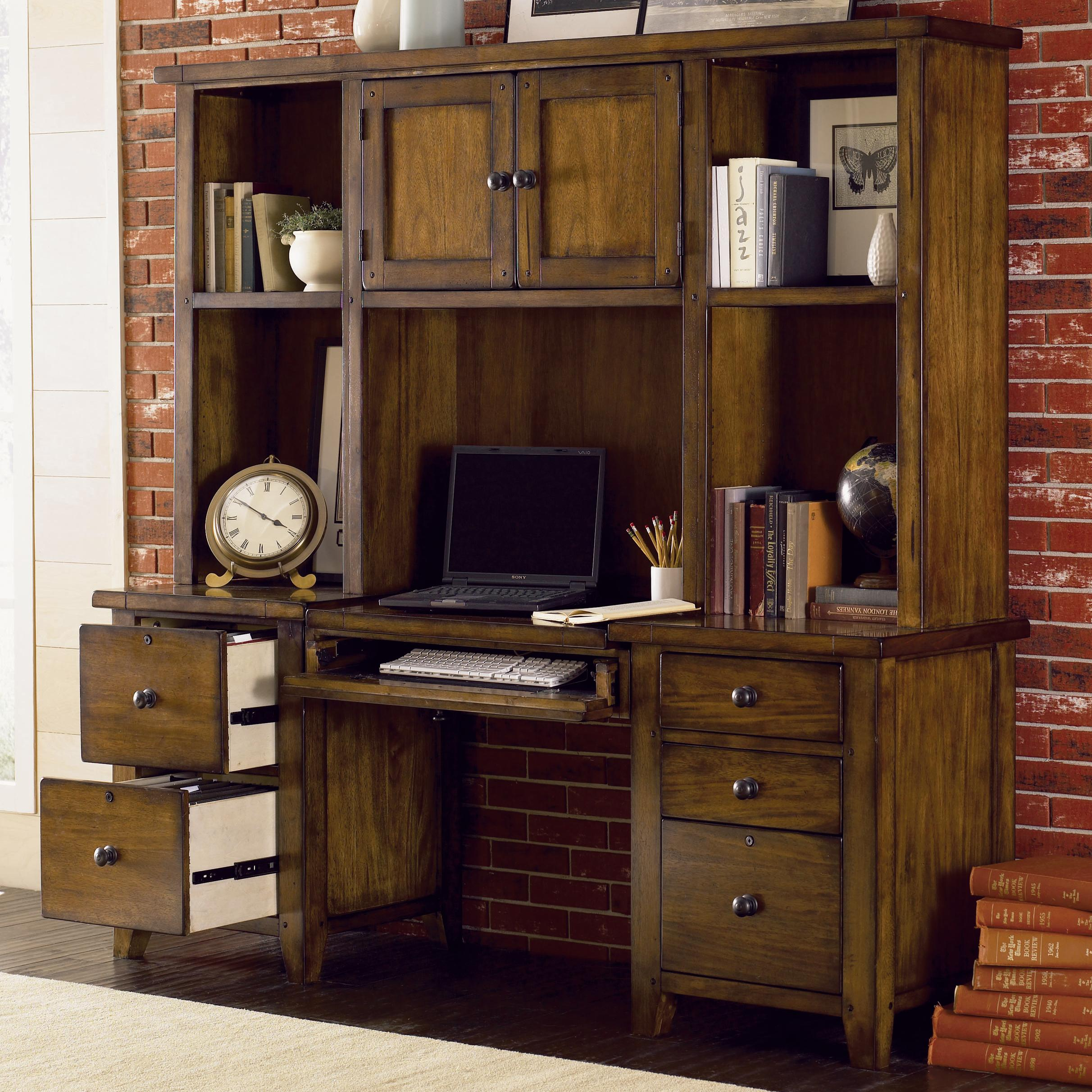 Aspenhome Cross Country Modular Wall Desk Amp Hutch Ahfa