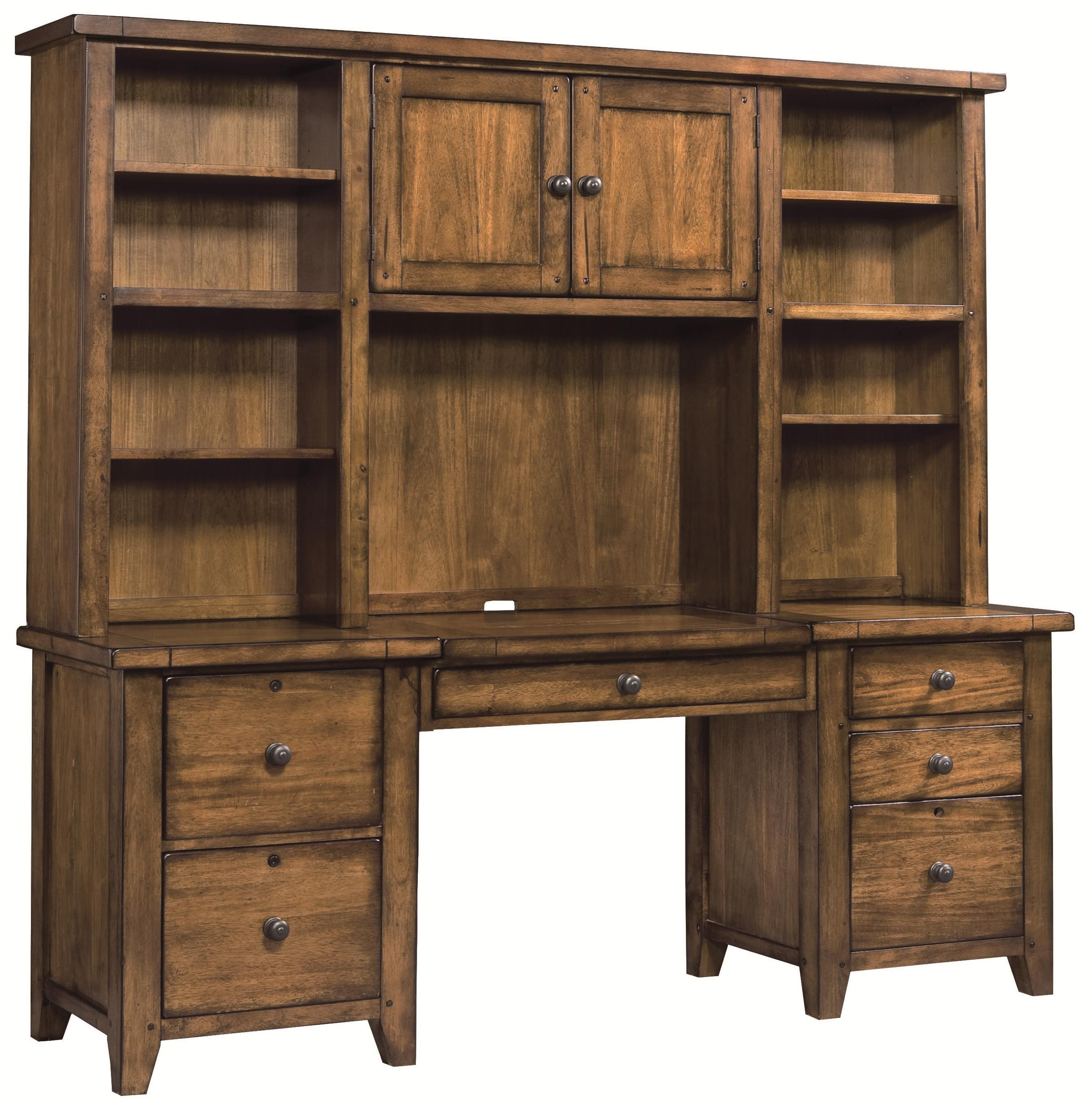 computer with oak home file shipping today product hutch drawers espresso cabinet pedestal and overstock free collection cabot drawer garden desk corner
