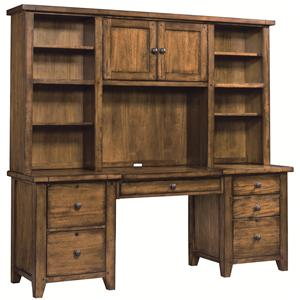 Aspenhome Cross Country Desk & Hutch