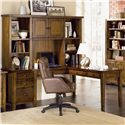 Aspenhome Cross Country L-Shaped Desk & Hutch