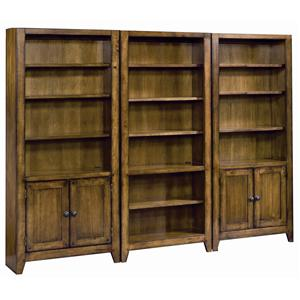 Morris Home Furnishings Cross Country Bookcase Wall