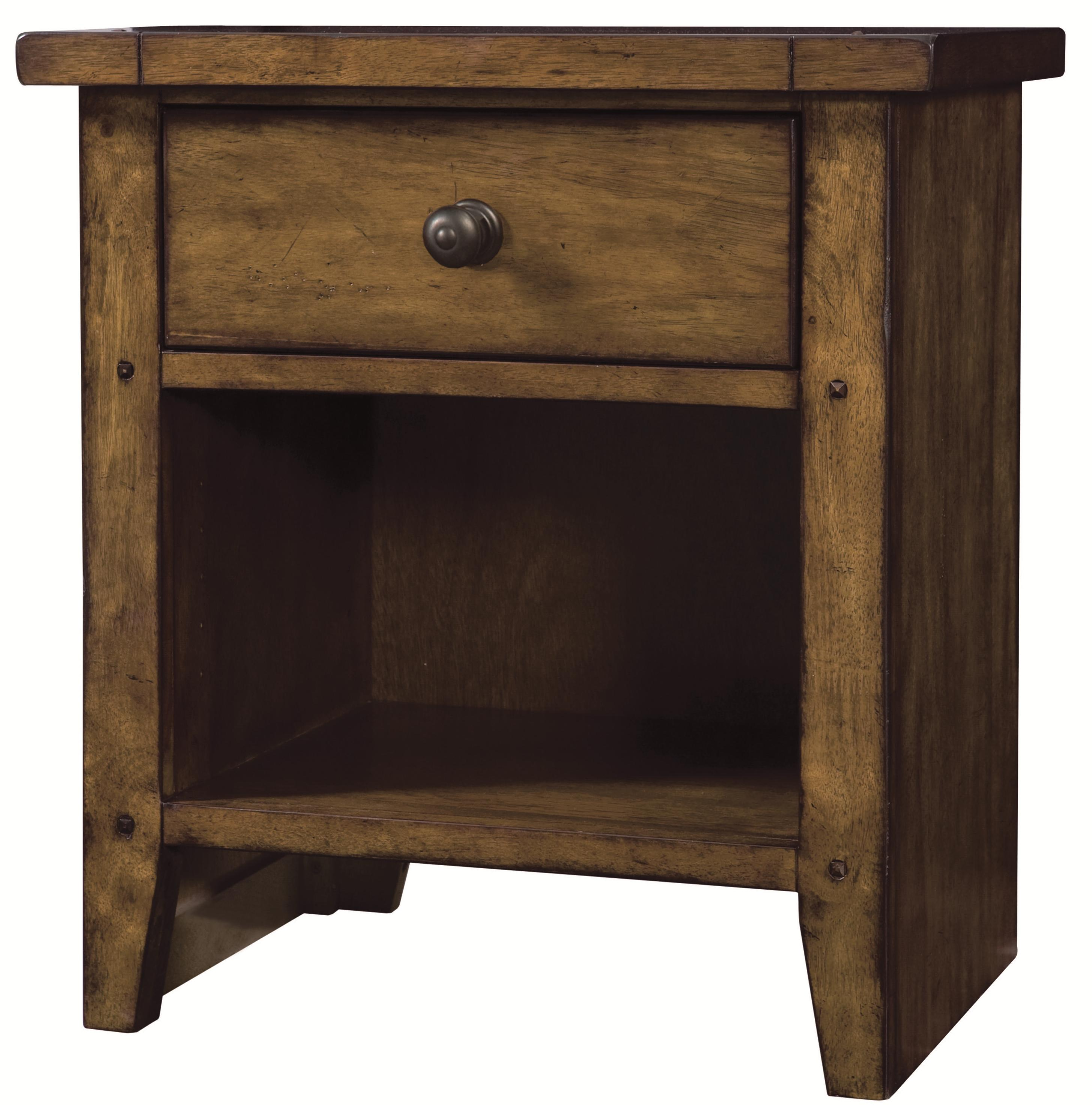 Aspenhome Cross Country Night Stand - Item Number: IMR-451