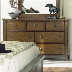 Morris Home Furnishings Cross Country Dresser