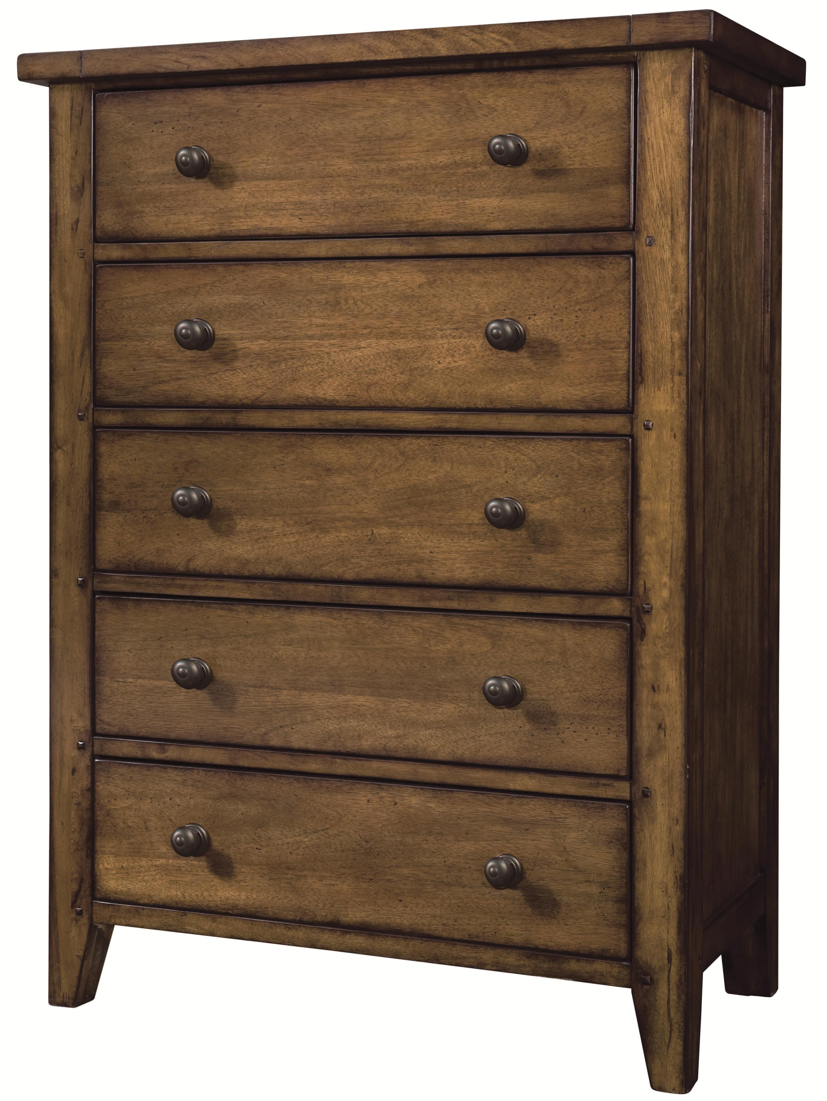 Aspenhome Cross Country Drawer Chest - Item Number: IMR-456