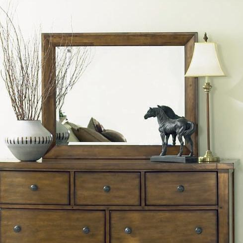 Aspenhome Cross Country Landscape Mirror - Item Number: IMR-462