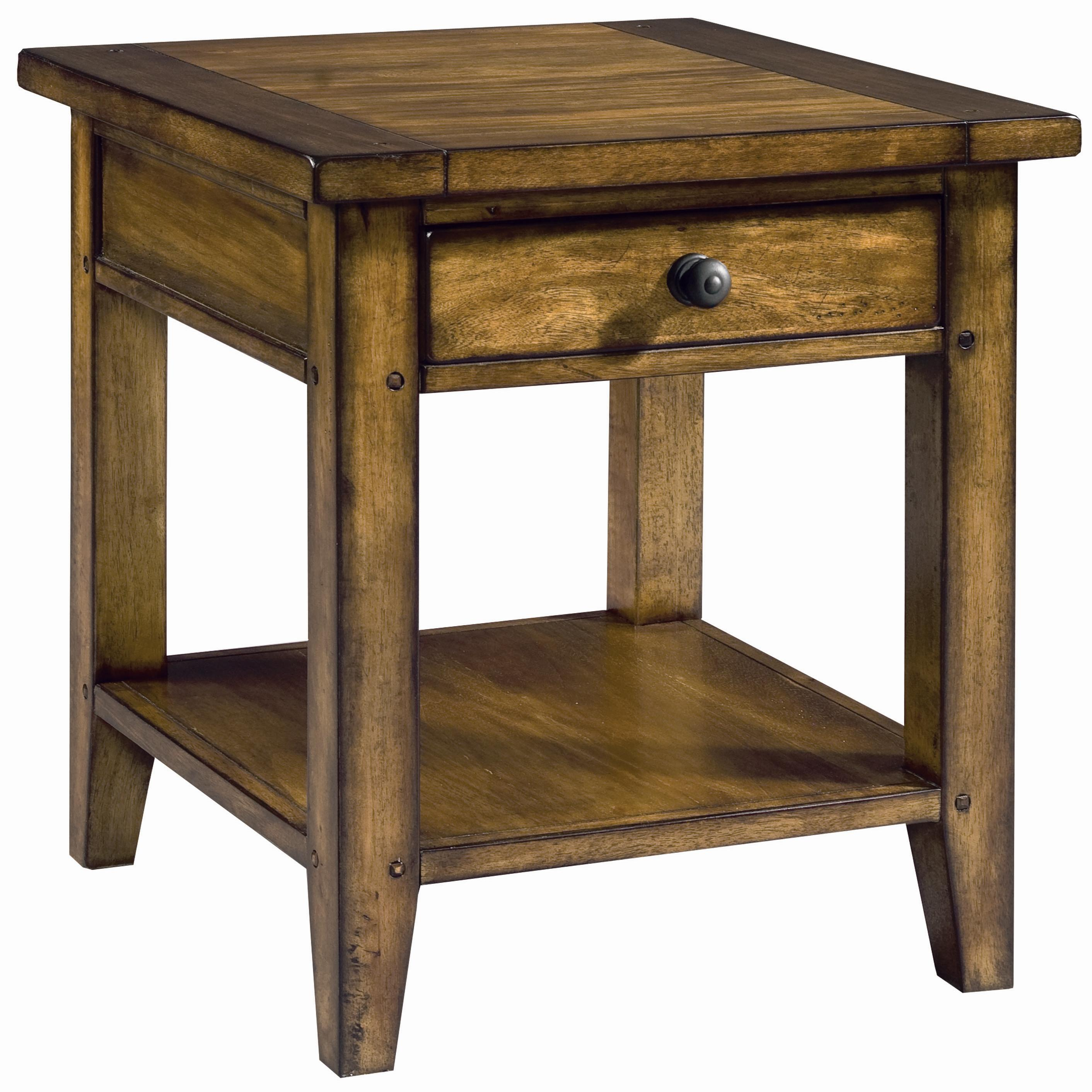 Aspenhome Cross Country End Table - Item Number: IMR-914