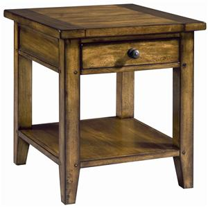 Morris Home Furnishings Cross Country End Table