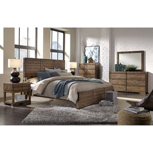 Morris Home Furnishings Dimensions Queen Bedroom Group