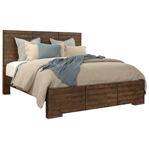 Morris Home Furnishings Dimensions Cal King Panel Bed